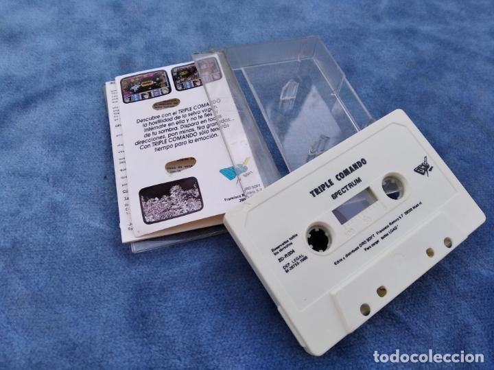 Videojuegos y Consolas: TRIPLE COMANDO - ZX SPECTRUM - VIDEOJUEGO ---------------------3XY - Foto 3 - 251301565