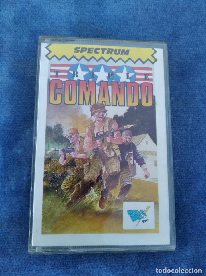 TRIPLE COMANDO - ZX SPECTRUM - VIDEOJUEGO ---------------------3XY (Juguetes - Videojuegos y Consolas - Spectrum)