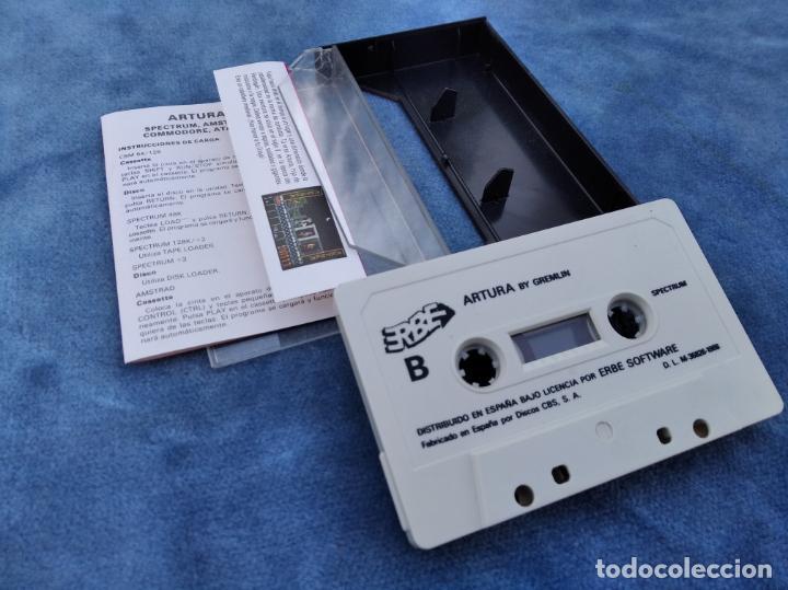 Videojuegos y Consolas: ARTURA - ZX SPECTRUM - VIDEOJUEGO ---------------------3XY - Foto 3 - 251301700