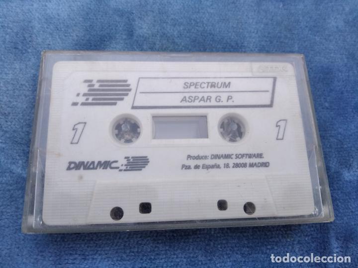 ASPAR G.P. - ZX SPECTRUM - VIDEOJUEGO ---------------------3XY (Juguetes - Videojuegos y Consolas - Spectrum)