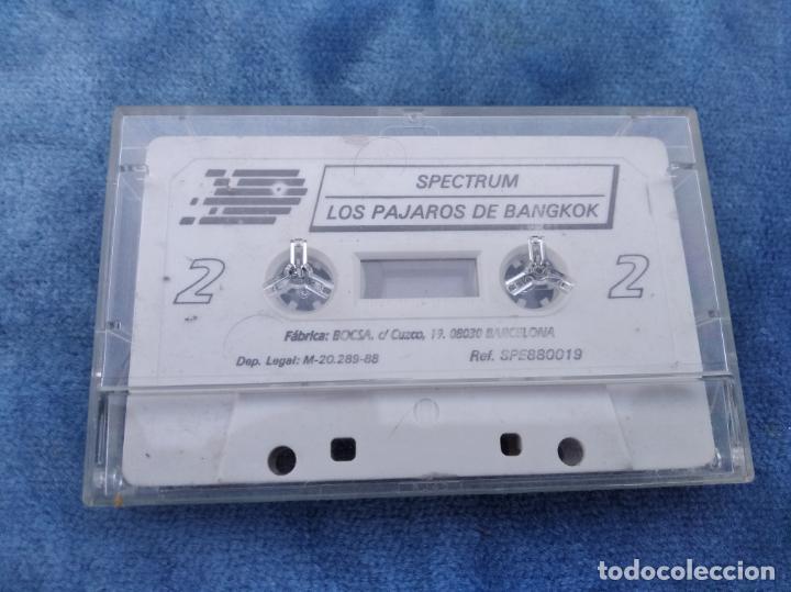Videojuegos y Consolas: LOS PAJAROS DE BANGKOK - ZX SPECTRUM - VIDEOJUEGO ---------------------3XY - Foto 2 - 251302085