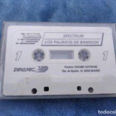 Videojuegos y Consolas: LOS PAJAROS DE BANGKOK - ZX SPECTRUM - VIDEOJUEGO ---------------------3XY. Lote 251302085