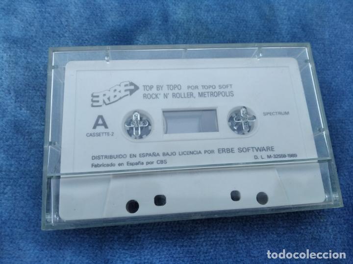 Videojuegos y Consolas: TOP BY TOPO, EMILIO BUTRAGUEÑO, BLACK BEARD, ETC - ZX SPECTRUM - VIDEOJUEGO ---------------------3XY - Foto 2 - 251302270