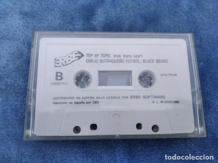 TOP BY TOPO, EMILIO BUTRAGUEÑO, BLACK BEARD, ETC - ZX SPECTRUM - VIDEOJUEGO ---------------------3XY (Juguetes - Videojuegos y Consolas - Spectrum)