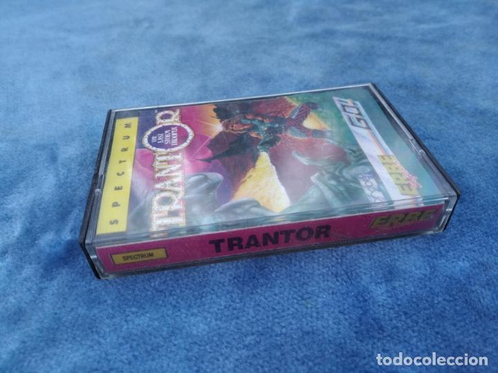 Videojuegos y Consolas: TRANTOR - ZX SPECTRUM - VIDEOJUEGO ---------------------3XY - Foto 2 - 251302365