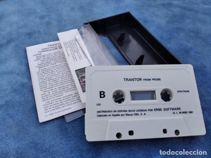Videojuegos y Consolas: TRANTOR - ZX SPECTRUM - VIDEOJUEGO ---------------------3XY - Foto 3 - 251302365