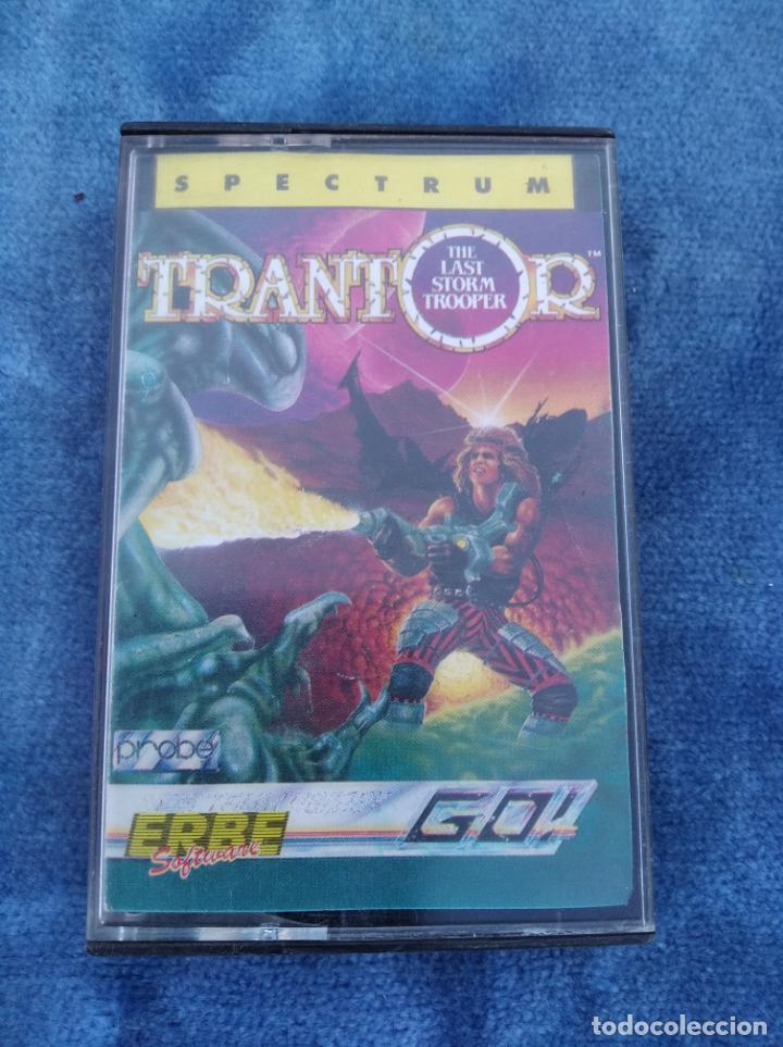 TRANTOR - ZX SPECTRUM - VIDEOJUEGO ---------------------3XY (Juguetes - Videojuegos y Consolas - Spectrum)