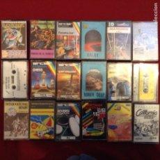 Videojuegos y Consolas: GRAN LOTE DE 18 JUEGOS Y APLICACIONES SINCLAIR ZX SPRECTRUM. Lote 251866880