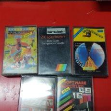 Videojuegos y Consolas: LOTE CINTAS SPECTRUM. Lote 252116210