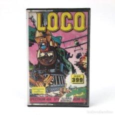 Videojuegos y Consolas: LOCO Z COBRA ESPAÑA ALLIGATA SOFTWARE 1987 TREN SUPER LOCOMOTIVE TRAIN SINCLAIR ZX SPECTRUM CASSETTE. Lote 253043020