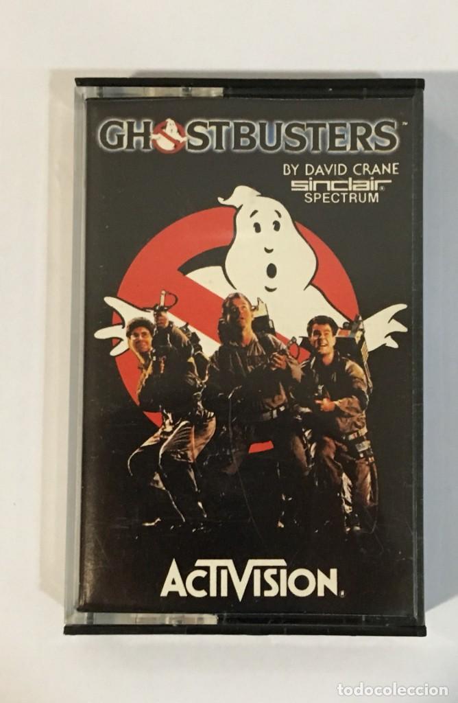 JUEGO VINTAGE PARA SINCLAIR SPECTRUM - GHOSTBUSTERS. ACTIVISION, 1984. SIN INSTRUCCIONES (Juguetes - Videojuegos y Consolas - Spectrum)