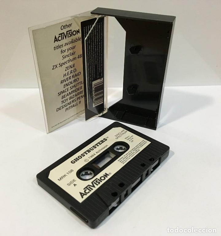 Videojuegos y Consolas: JUEGO VINTAGE PARA SINCLAIR SPECTRUM - GHOSTBUSTERS. ACTIVISION, 1984. SIN INSTRUCCIONES - Foto 4 - 254458185
