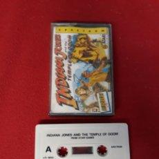 Videojuegos y Consolas: JUEGO SPECTRUM INDIANA JONES AND THE TEMPLE OF DOOM. Lote 255523860