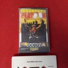 Videojuegos y Consolas: JUEGO SPECTRUM PLATOON. Lote 255525095