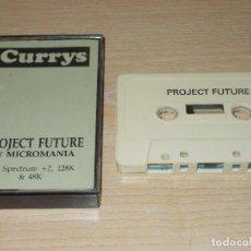 Videojuegos y Consolas: JUEGO SPECTRUM. PROJECT FUTURE. MICROMANIA. Lote 255525955