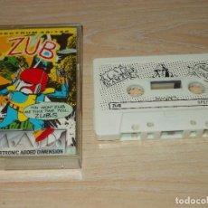 Videojuegos y Consolas: JUEGO SPECTRUM. ZUB. M.A.D. MASTERTRONIC. Lote 255527035