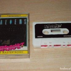 Videojuegos y Consolas: JUEGO SPECTRUM. ALIENS. RICOCHET / ELECTRIC DREAMS / MASTERTRONIC.. Lote 255529885