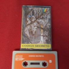 Videojuegos y Consolas: JUEGO SINCLAIR SPECTRUM CODIGO SECRETO. Lote 255530055