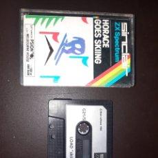 Videojuegos y Consolas: SPECTRUM HORACE GOES SKIING. Lote 255573490