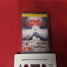 Videojuegos y Consolas: JUEGO SPECTRUM CHAIN REACTION. Lote 255609040