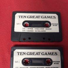 Videojuegos y Consolas: JUEGO SPECTRUM TEN GREAT GAMES. Lote 255919115