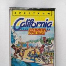 Videojuegos y Consolas: CALIFORNIA GAMES. PARA SPECTRUM. EN CINTA. DE EPYX/ERBE SOFTWARE. AÑO 1987. USADO.. Lote 256827015