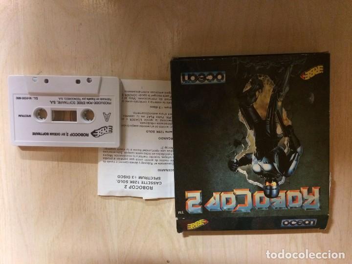 Videojuegos y Consolas: ROBOCOP 2 SPECTRUM - Foto 3 - 257292465