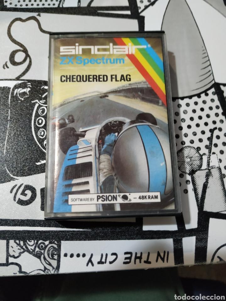 JUEGO SPECTRUM, CHEQUERED FLAG (Juguetes - Videojuegos y Consolas - Spectrum)