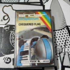 Videojuegos y Consolas: JUEGO SPECTRUM, CHEQUERED FLAG. Lote 257300705