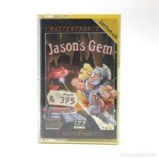 Videojuegos y Consolas: JASON´S GEM PRECINTADO. MASTERTRONIC SIMON WHITE 1985 JUEGO ESTRATEGIA SINCLAIR ZX SPECTRUM CASSETTE. Lote 257656310