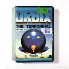 Videojuegos y Consolas: ORBIX THE TERRORBALL. ESTUCHE Z COBRA ESPAÑA STREETWISE 1987 RETRO 48K SINCLAIR ZX SPECTRUM CASSETTE. Lote 257657590