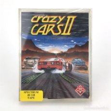 Videojuegos y Consolas: CRAZY CARS II. PRECINTADO TITUS SOFTWARE 1987 RACE GAME CARRERA COCHES SINCLAIR ZX SPECTRUM CASSETTE. Lote 257658730