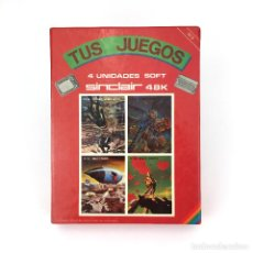 Videojuegos y Consolas: TESORO SUBMARINO FUMIGATOR MOTOTRON SPACE ROCUS TUS JUEGOS 3 MONSER SINCLAIR SPECTRUM CASSETTE * MIA. Lote 257659880