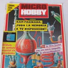 Videojuegos y Consolas: MICROHOBBY 103. Lote 260653695