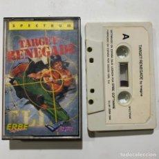 Videojuegos y Consolas: JUEGO DE ORDENADOR SPECTRUM TARGET RENEGADE. Lote 261115640