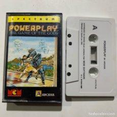 Videojuegos y Consolas: JUEGO DE ORDENADOR SPECTRUM POWERPLAY THE GAME OF THE GODS. Lote 261117005