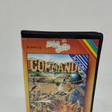 Videojuegos y Consolas: CAJA SPECTRUM COMMANDO 48K. VERSIÓN CASTELLANO. ELITE.. Lote 261286680