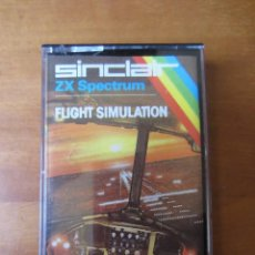 Videojuegos y Consolas: FLIGHT SIMULATION (PSION SOFTWARE) (ZX SPECTRUM). Lote 261303820