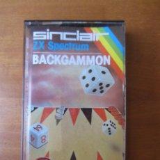 Videojuegos y Consolas: BACKGAMMON (PSION SOFTWARE) (ZX SPECTRUM). Lote 261303970