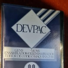 Videojogos e Consolas: SPECTRUM DEVPAC DE VENTAMATIC. ENSAMBLADOR DESENSAMBLADOR PARA Z80.. Lote 262293955
