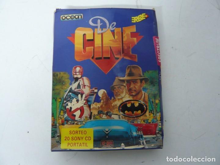 DE CINE, PACK DE JUEGOS / CAJA CARTÓN / SINCLAIR ZX SPECTRUM / RETRO VINTAGE / CASSETTE - CINTA (Juguetes - Videojuegos y Consolas - Spectrum)