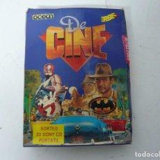 Videojuegos y Consolas: DE CINE, PACK DE JUEGOS / CAJA CARTÓN / SINCLAIR ZX SPECTRUM / RETRO VINTAGE / CASSETTE - CINTA. Lote 263135715