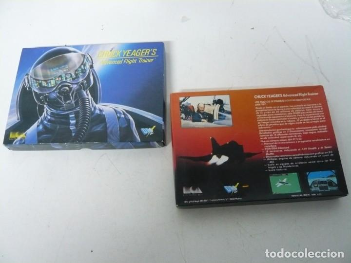 Videojuegos y Consolas: CHUCKS YEAGER AFT / CAJA CARTÓN / SINCLAIR ZX SPECTRUM / RETRO VINTAGE / CASSETTE - CINTA - Foto 3 - 263136330