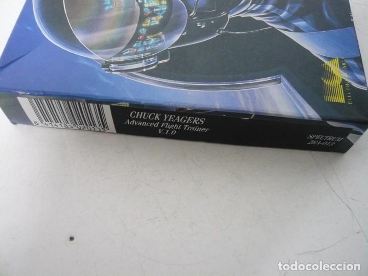 Videojuegos y Consolas: CHUCKS YEAGER AFT / CAJA CARTÓN / SINCLAIR ZX SPECTRUM / RETRO VINTAGE / CASSETTE - CINTA - Foto 4 - 263136330