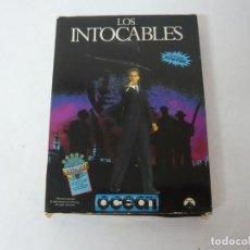 Videojuegos y Consolas: LOS INTOCABLES / CAJA CARTÓN / SINCLAIR ZX SPECTRUM / RETRO VINTAGE / CASSETTE - CINTA. Lote 263136600