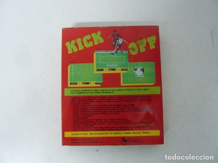 Videojuegos y Consolas: KICK OFF / CAJA CARTÓN / SINCLAIR ZX SPECTRUM / RETRO VINTAGE / CASSETTE - CINTA - Foto 2 - 263136755