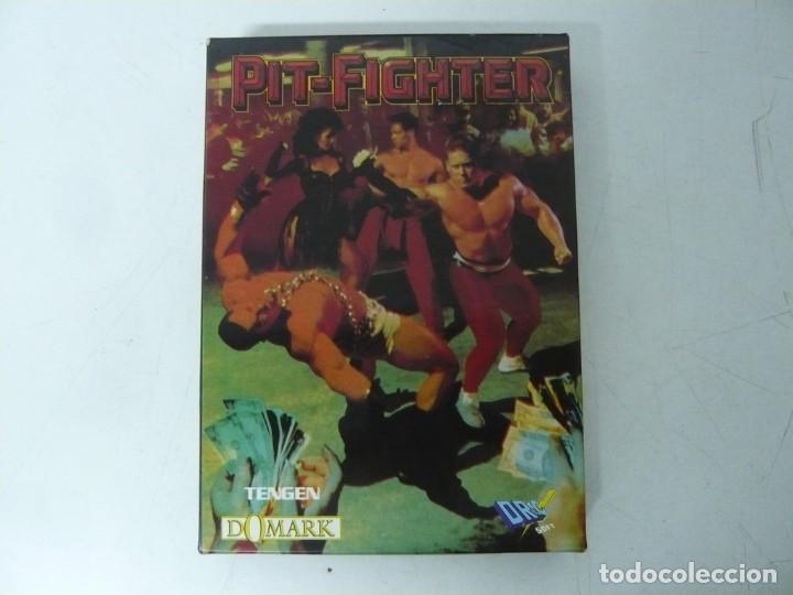 PIT-FIGHTER / CAJA CARTÓN / SINCLAIR ZX SPECTRUM / RETRO VINTAGE / CASSETTE - CINTA (Juguetes - Videojuegos y Consolas - Spectrum)