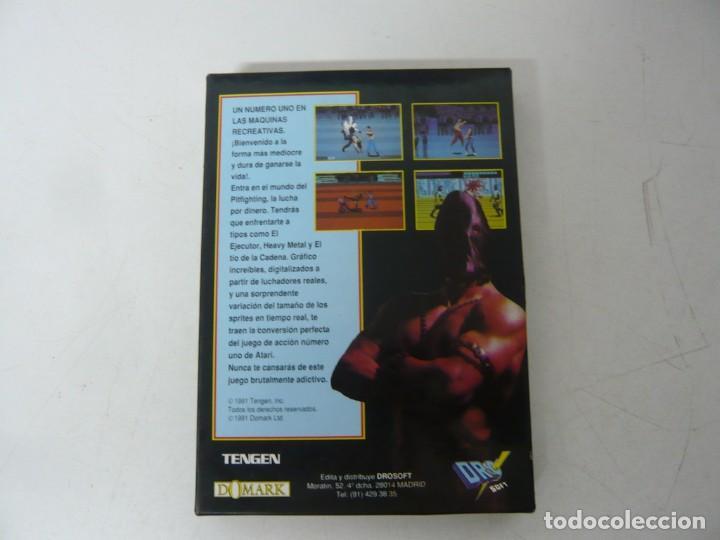Videojuegos y Consolas: PIT-FIGHTER / CAJA CARTÓN / SINCLAIR ZX SPECTRUM / RETRO VINTAGE / CASSETTE - CINTA - Foto 2 - 263136980