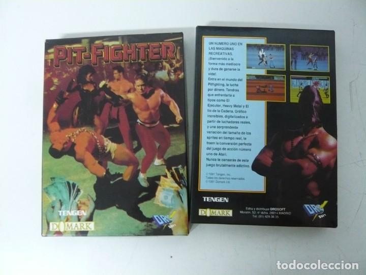 Videojuegos y Consolas: PIT-FIGHTER / CAJA CARTÓN / SINCLAIR ZX SPECTRUM / RETRO VINTAGE / CASSETTE - CINTA - Foto 3 - 263136980