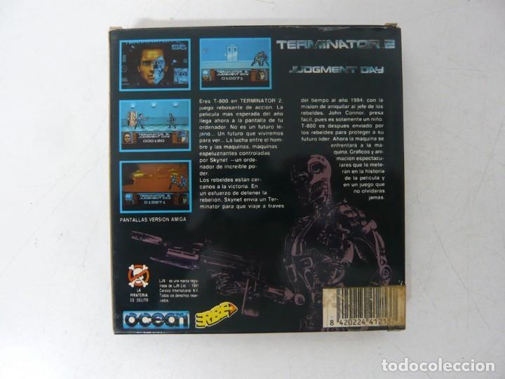 Videojuegos y Consolas: TERMINATOR 2 / CAJA CARTÓN / SINCLAIR ZX SPECTRUM / RETRO VINTAGE / CASSETTE - CINTA - Foto 2 - 263137270
